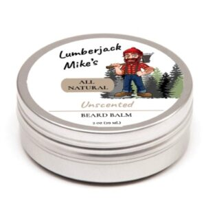 beard, balm, natural, men, unscented